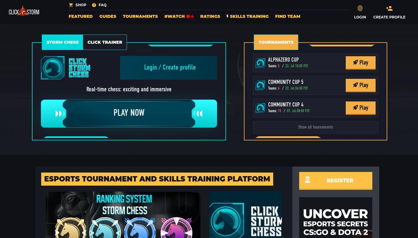 56) Click-Storm eSports