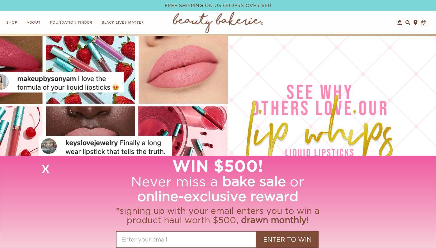 4) Beauty Bakerie Cosmetics Brand