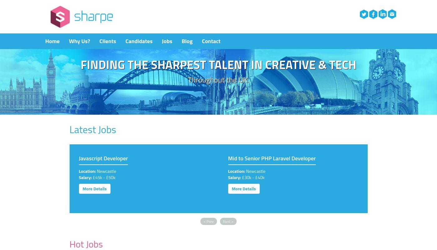 19) Sharpe Recruitment