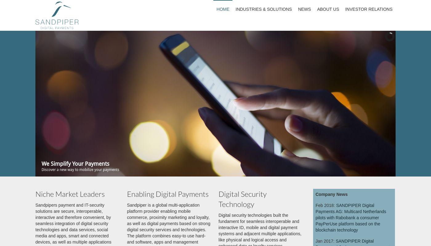 10) Sandpiper Digital Payments