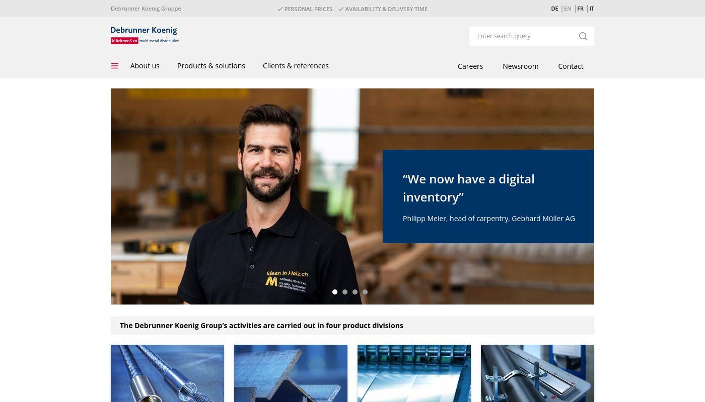 20) Debrunner Koenig Holding