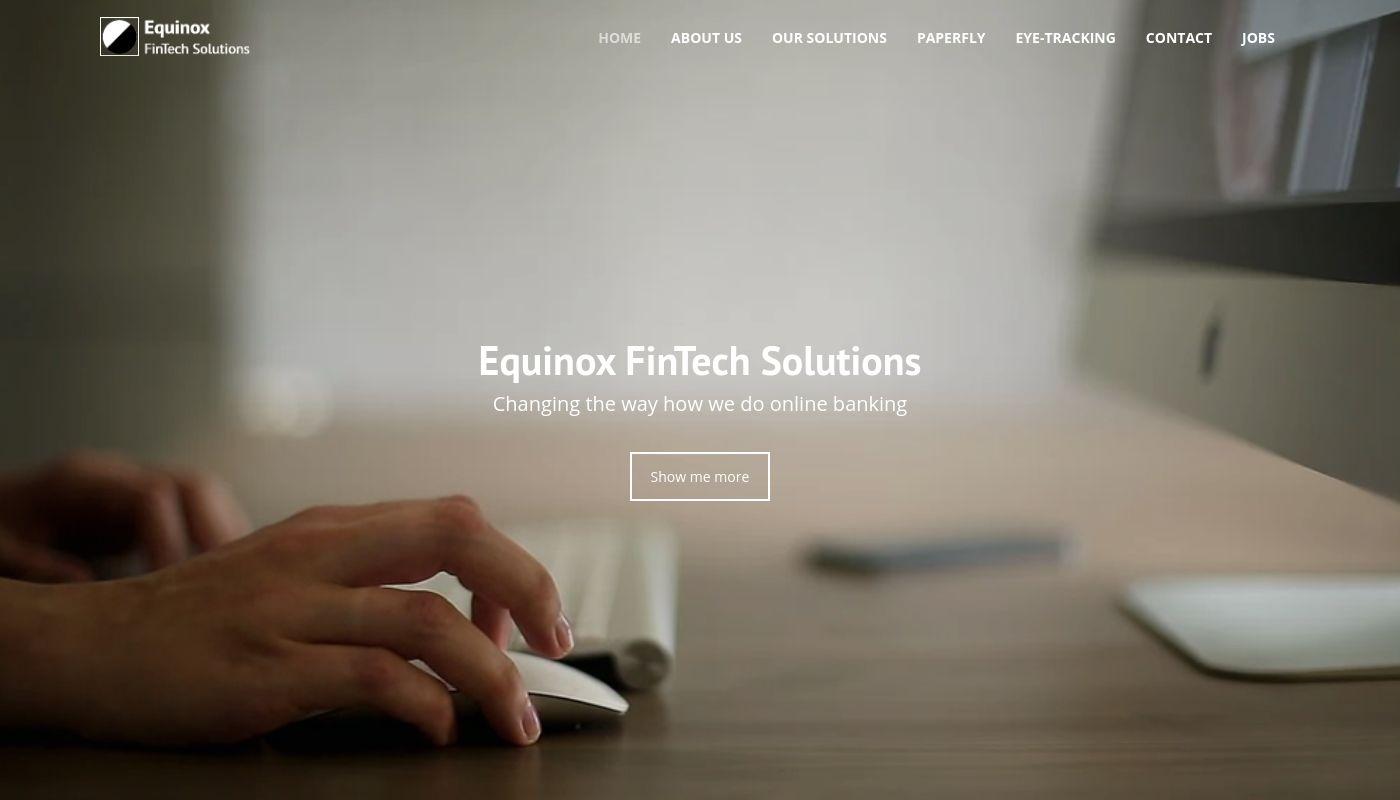 17) Equinox FinTech Solutions