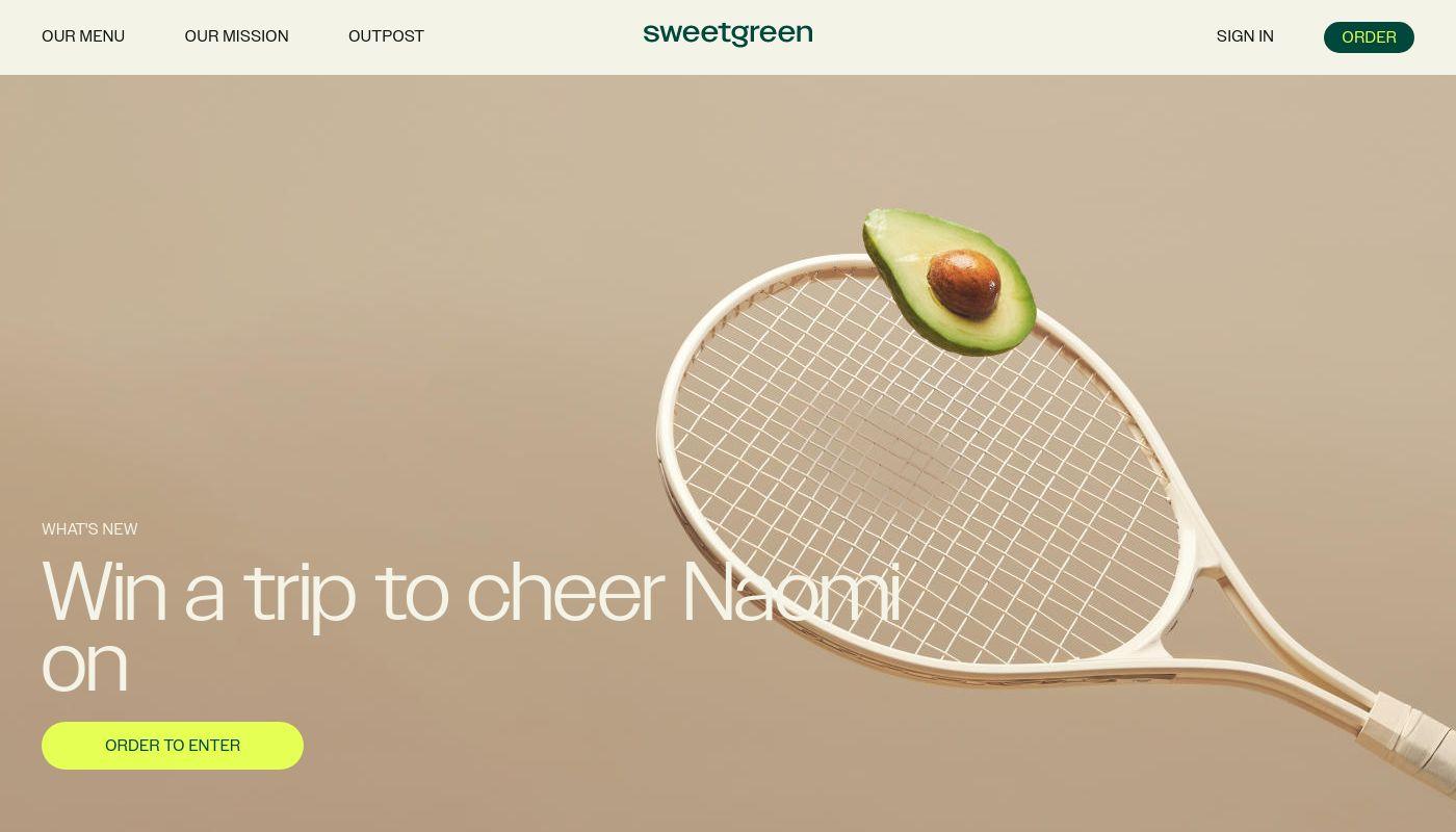 34) Sweetgreen