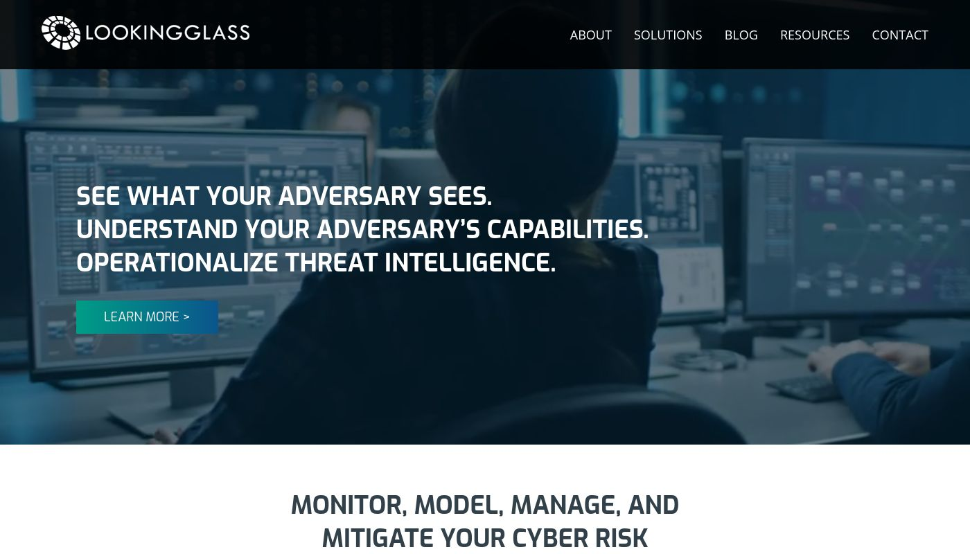2) LookingGlass Cyber Solutions