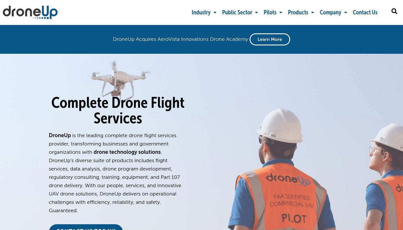 8) DroneUp