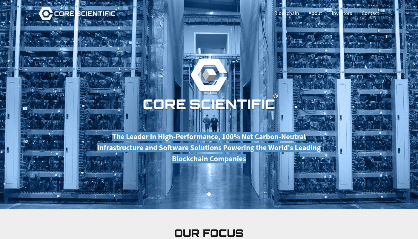 52) Core Scientific
