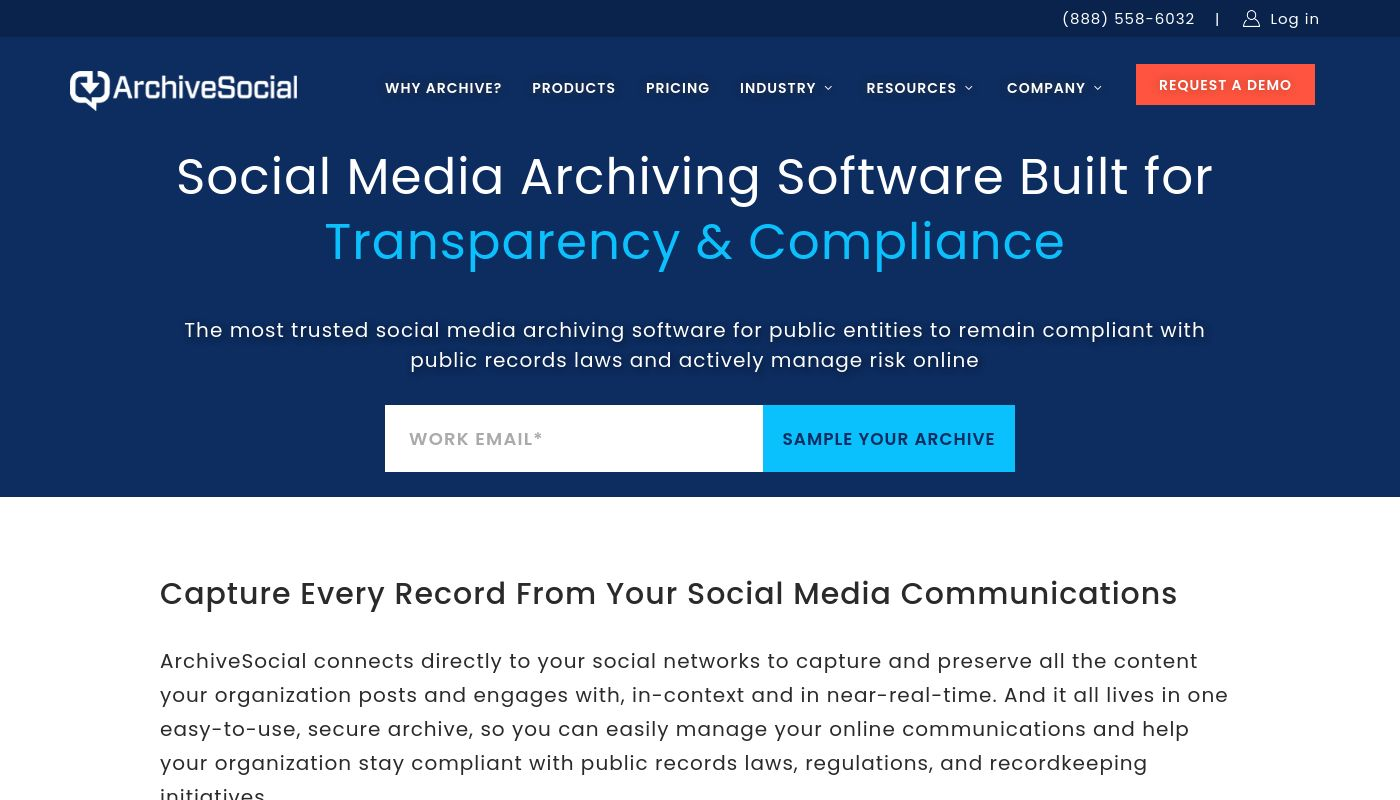 6) ArchiveSocial