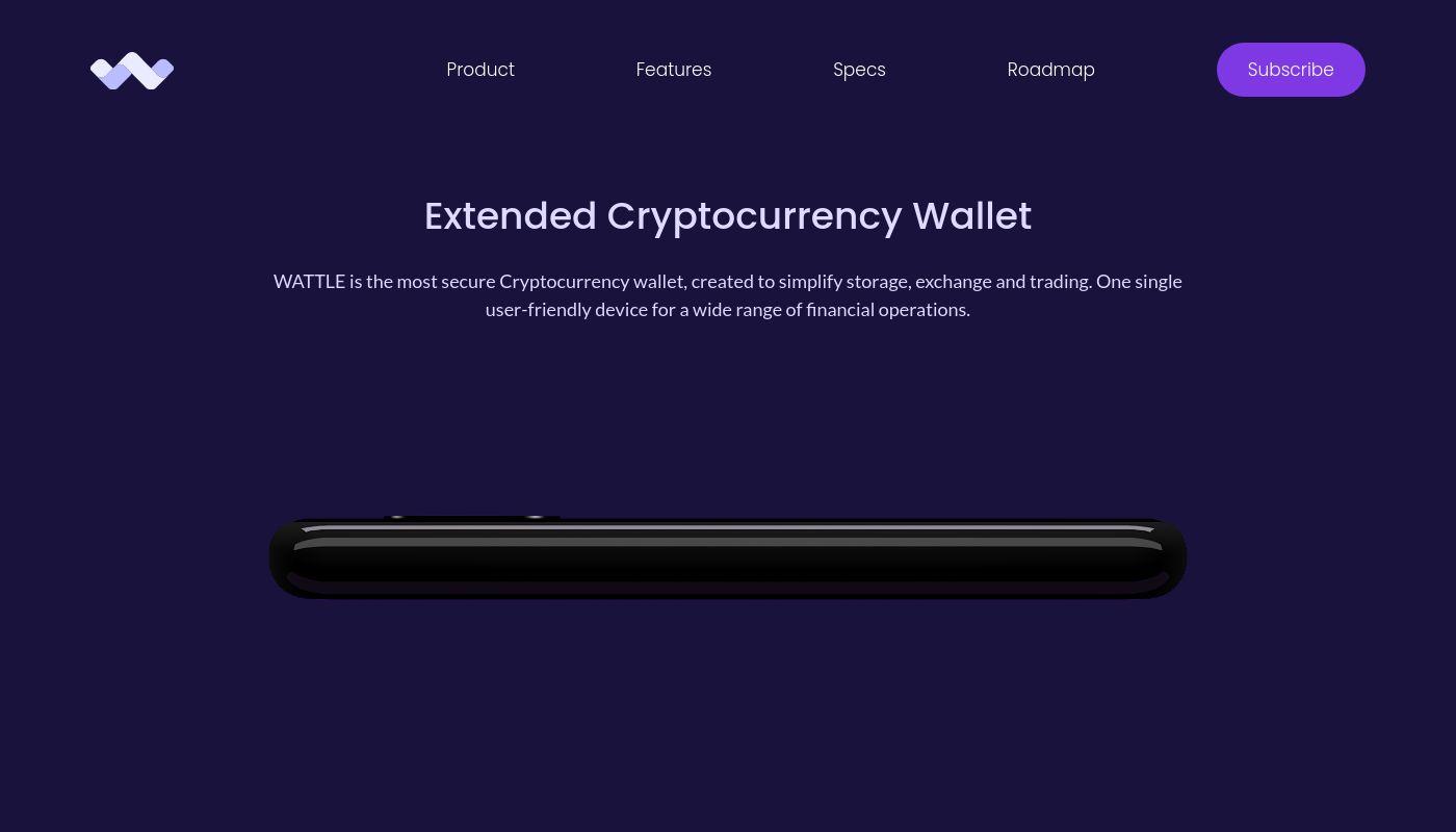 11) Wattle wallet