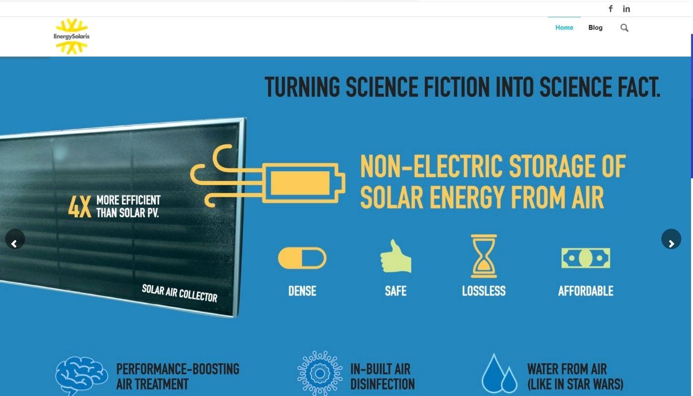 8) Energy Solaris