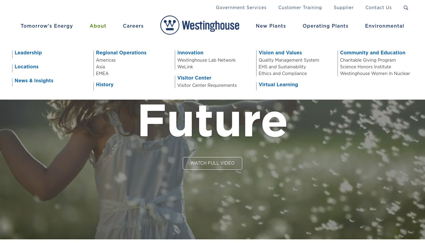 5) Westinghouse Electric Company