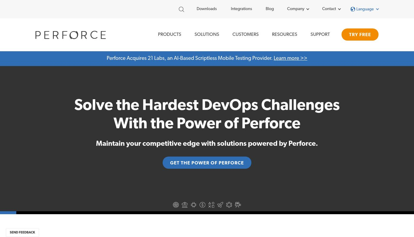 13) Perforce Software