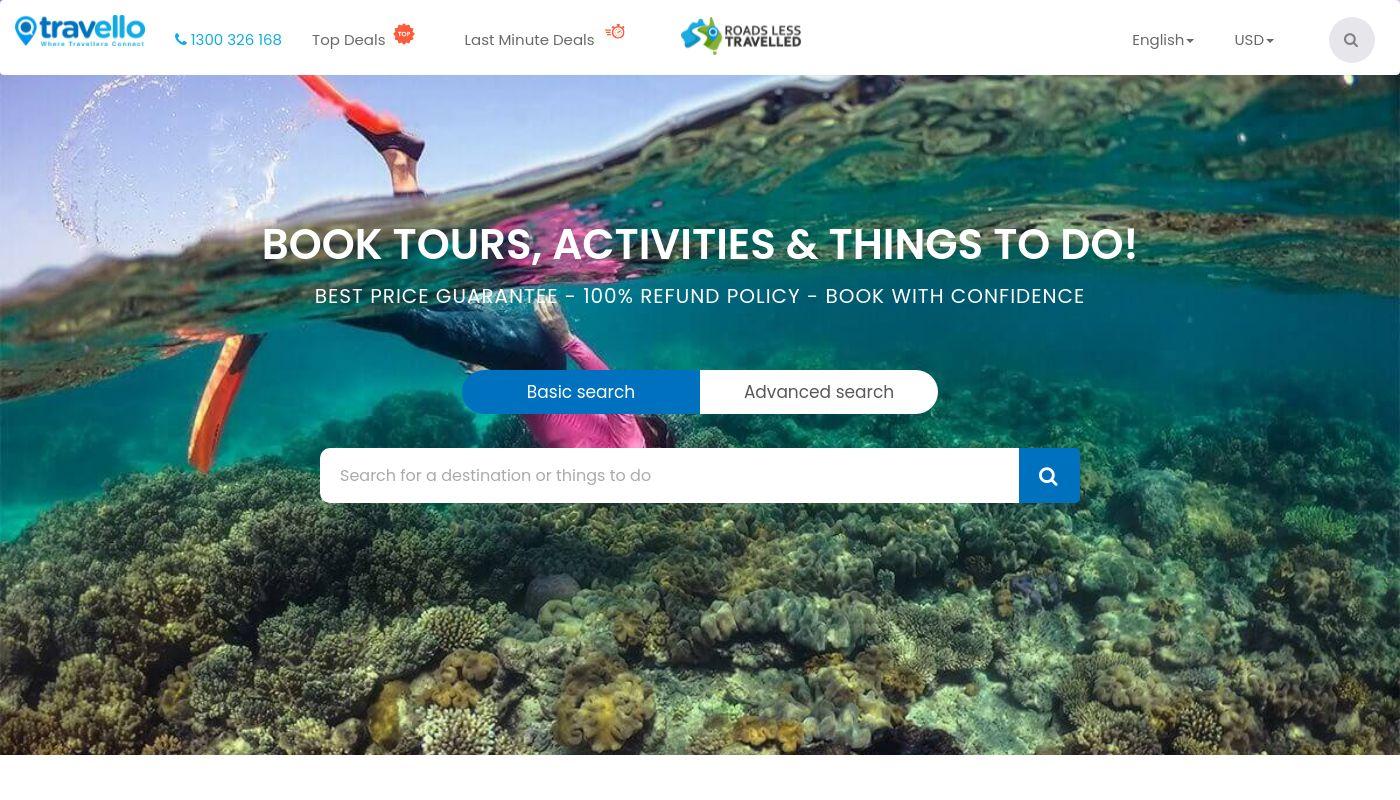 5) Travello app