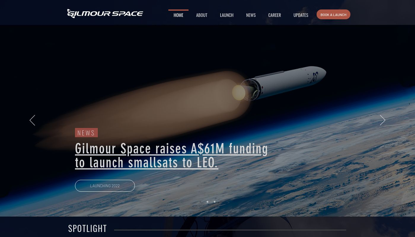 13) Gilmour Space Technologies