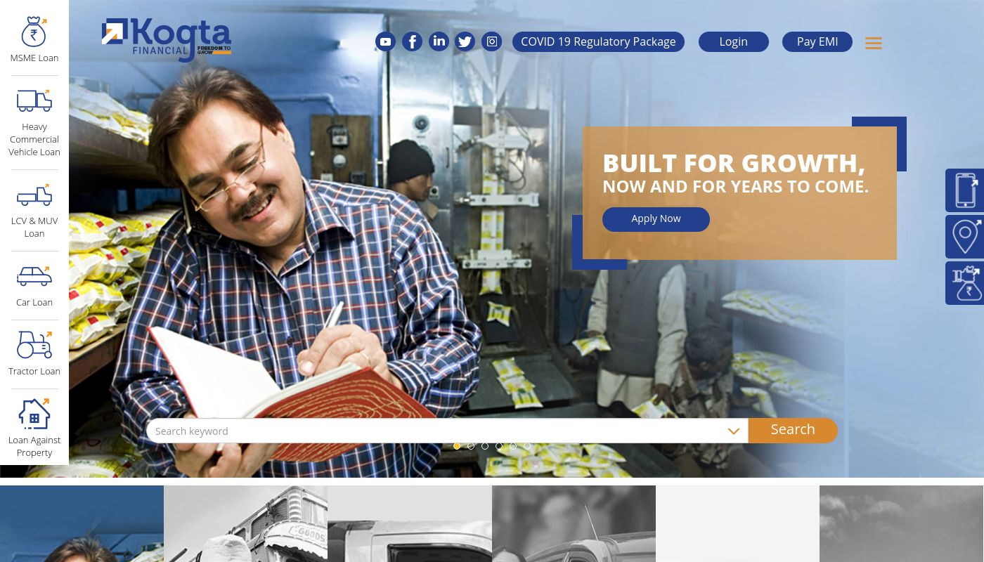 7) Kogta Financial India Limited
