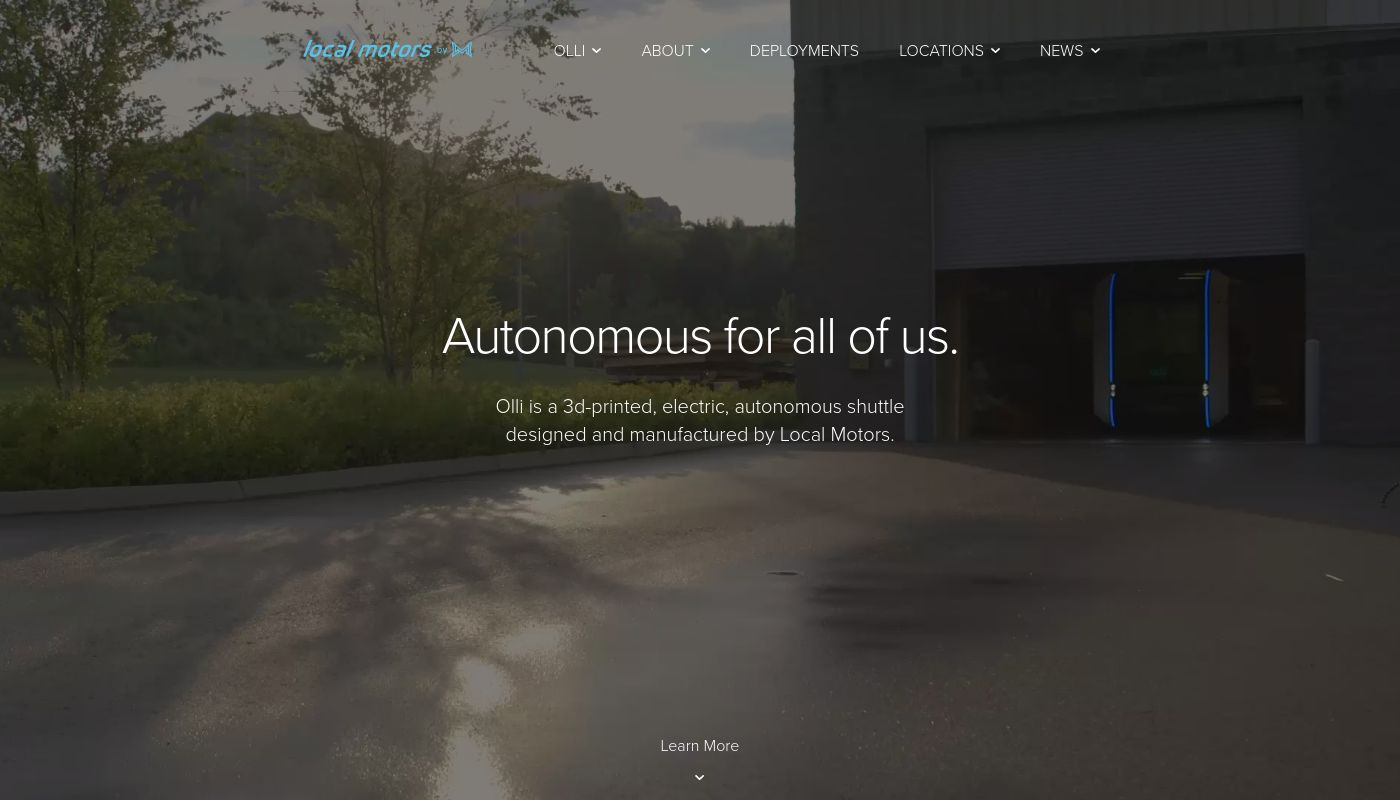 6) Local Motors