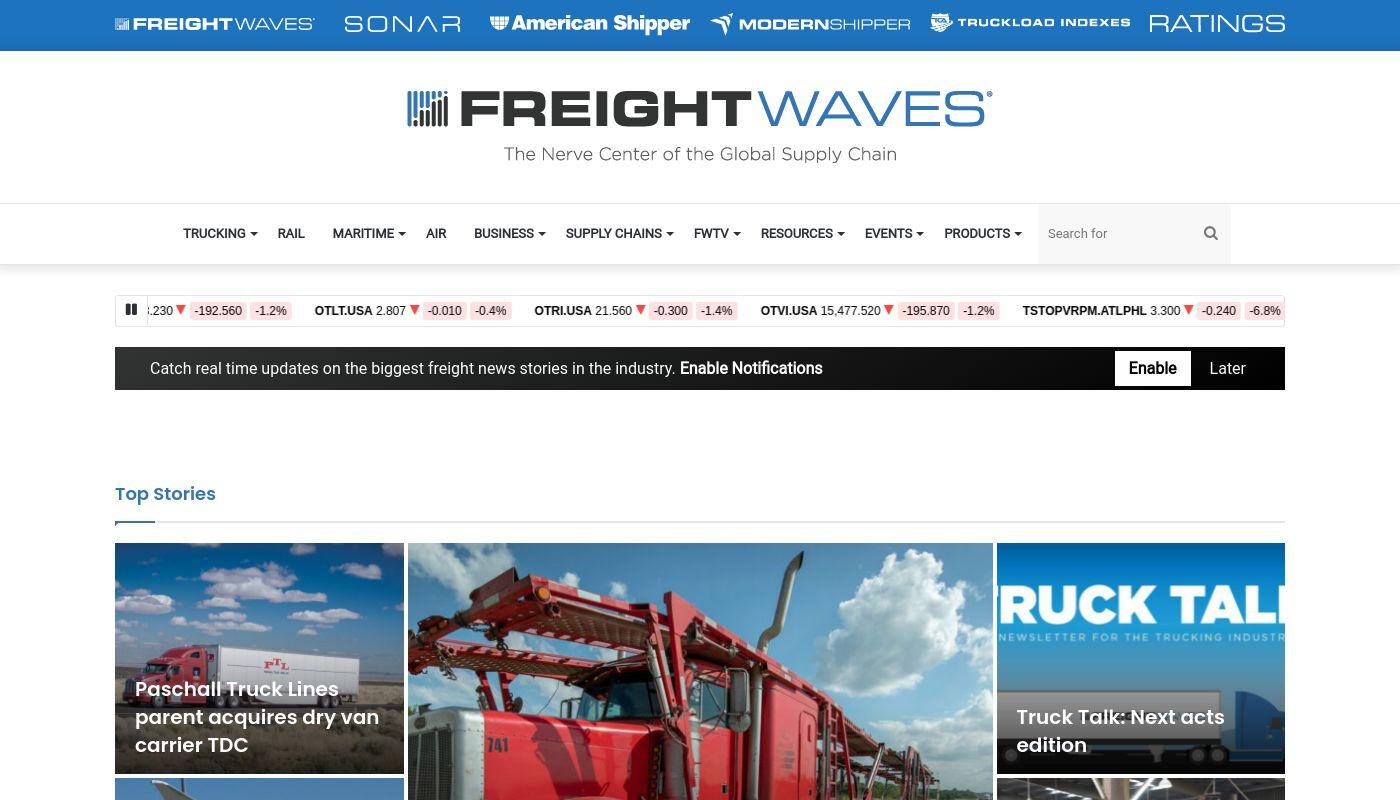 29) FreightWaves