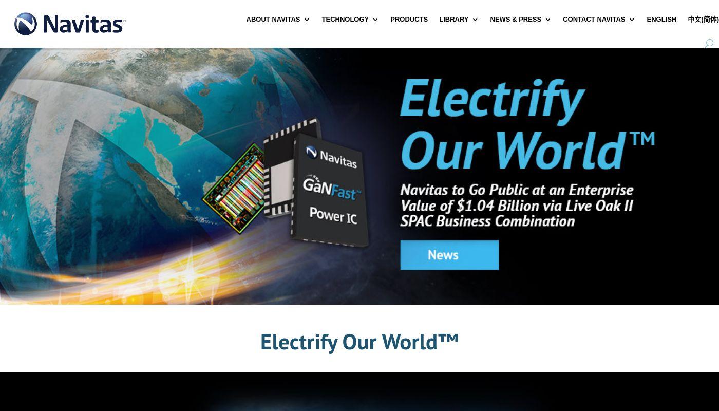 8) Navitas Semiconductor