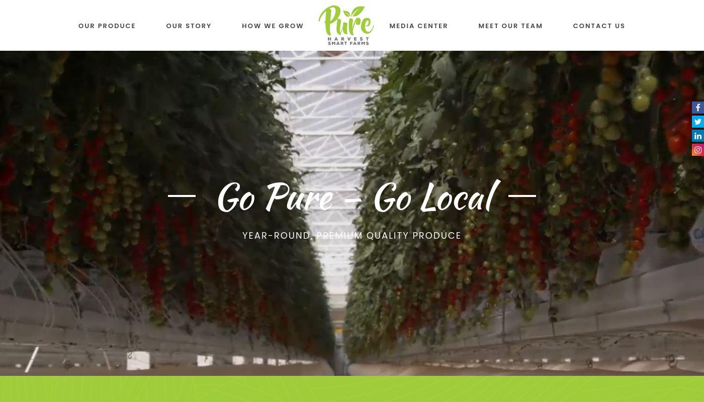 39) Pure Harvest Smart Farms