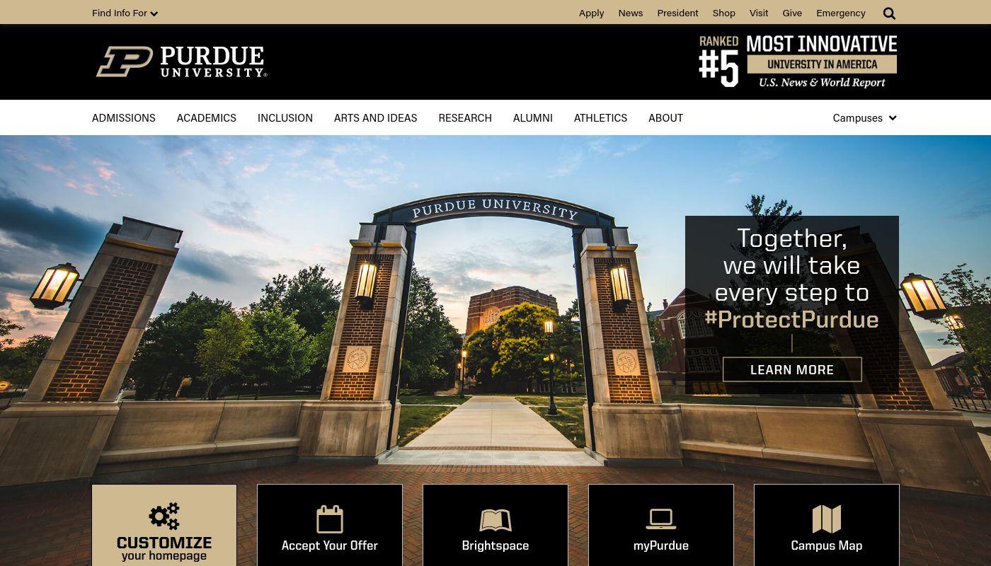 9) Purdue University