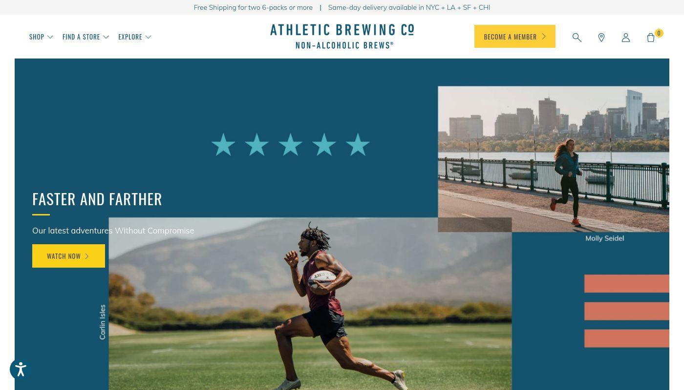 57) Athletic Brewing