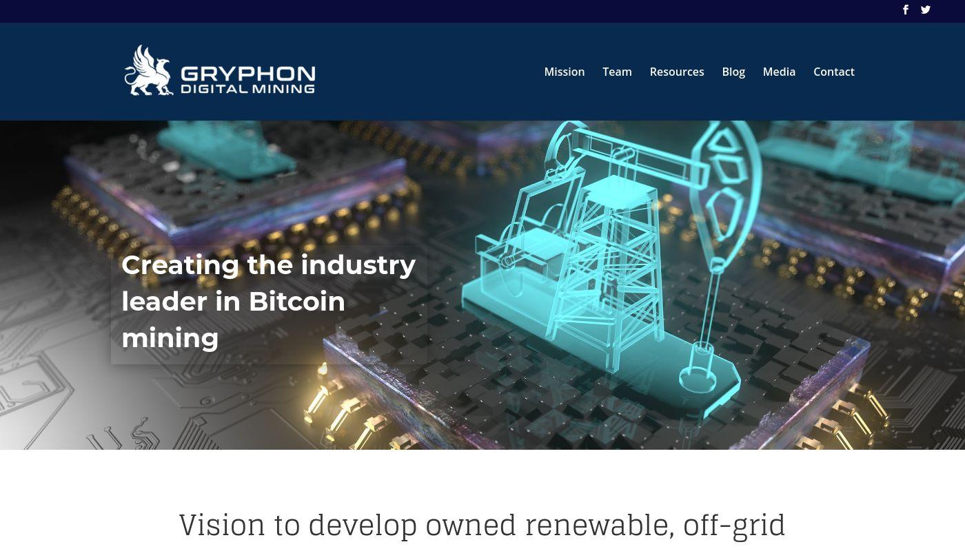 2) Gryphon Digital Mining