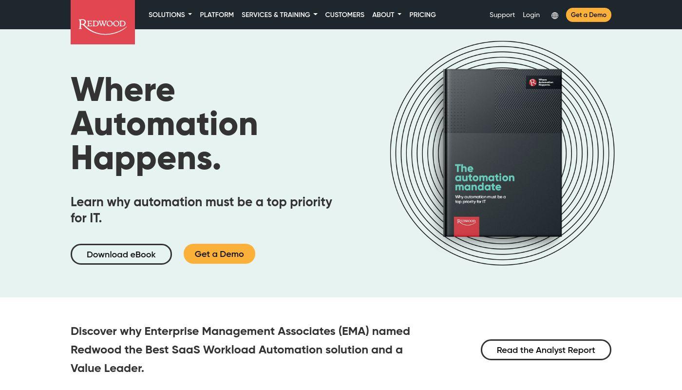 7) Redwood Software