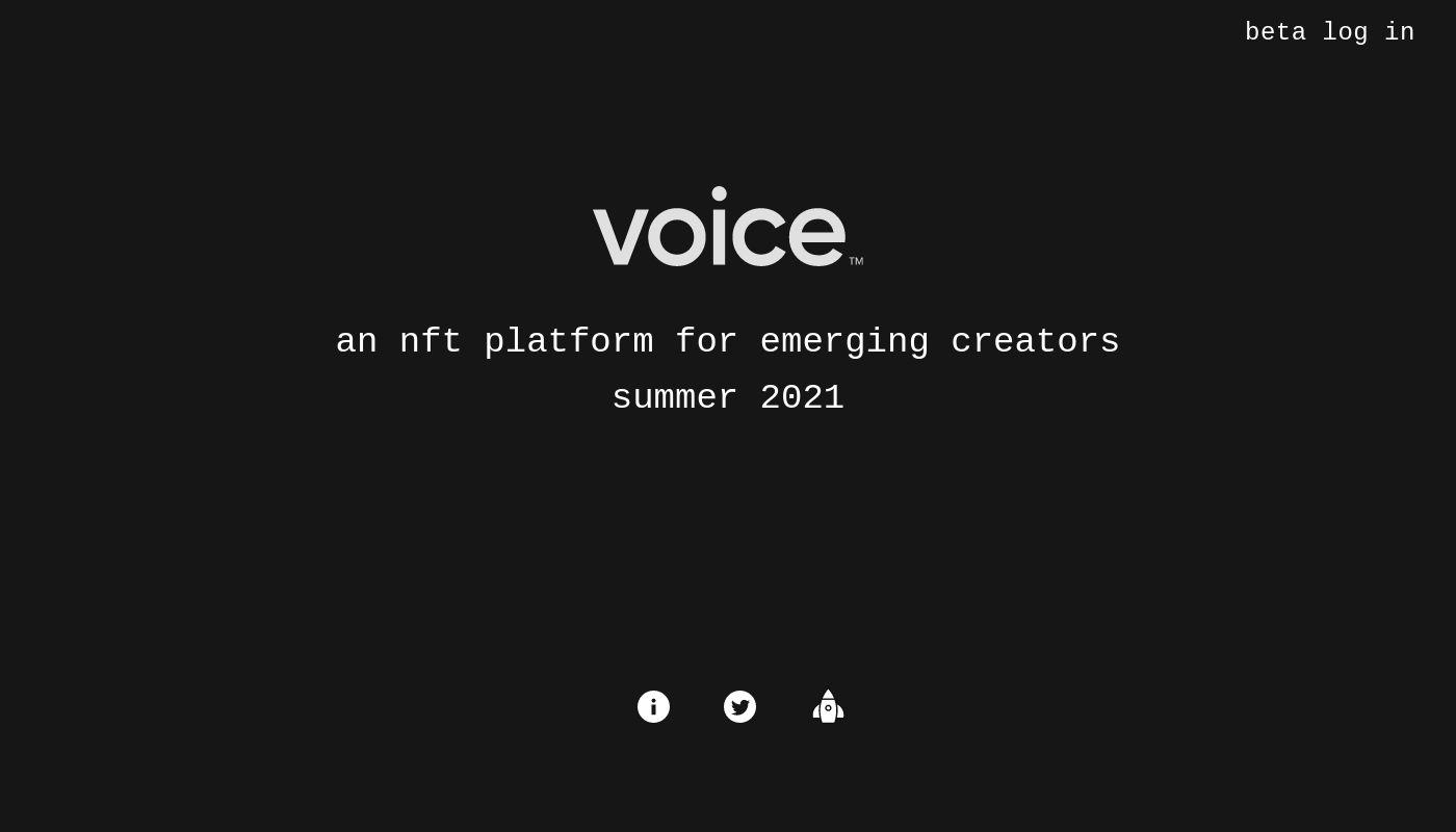 20) Voice