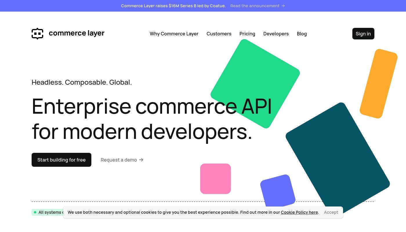1) Commerce Layer