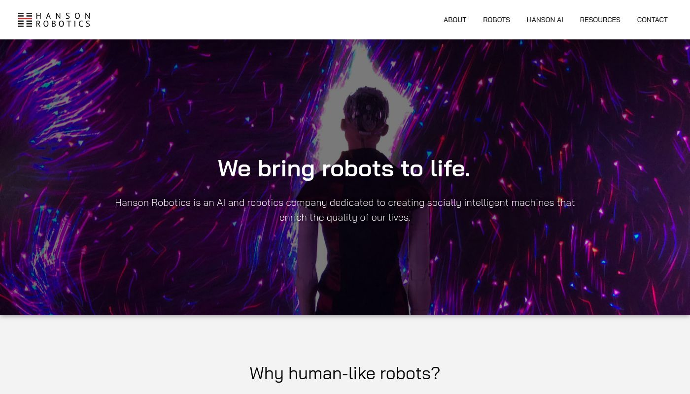 26) Hanson Robotics