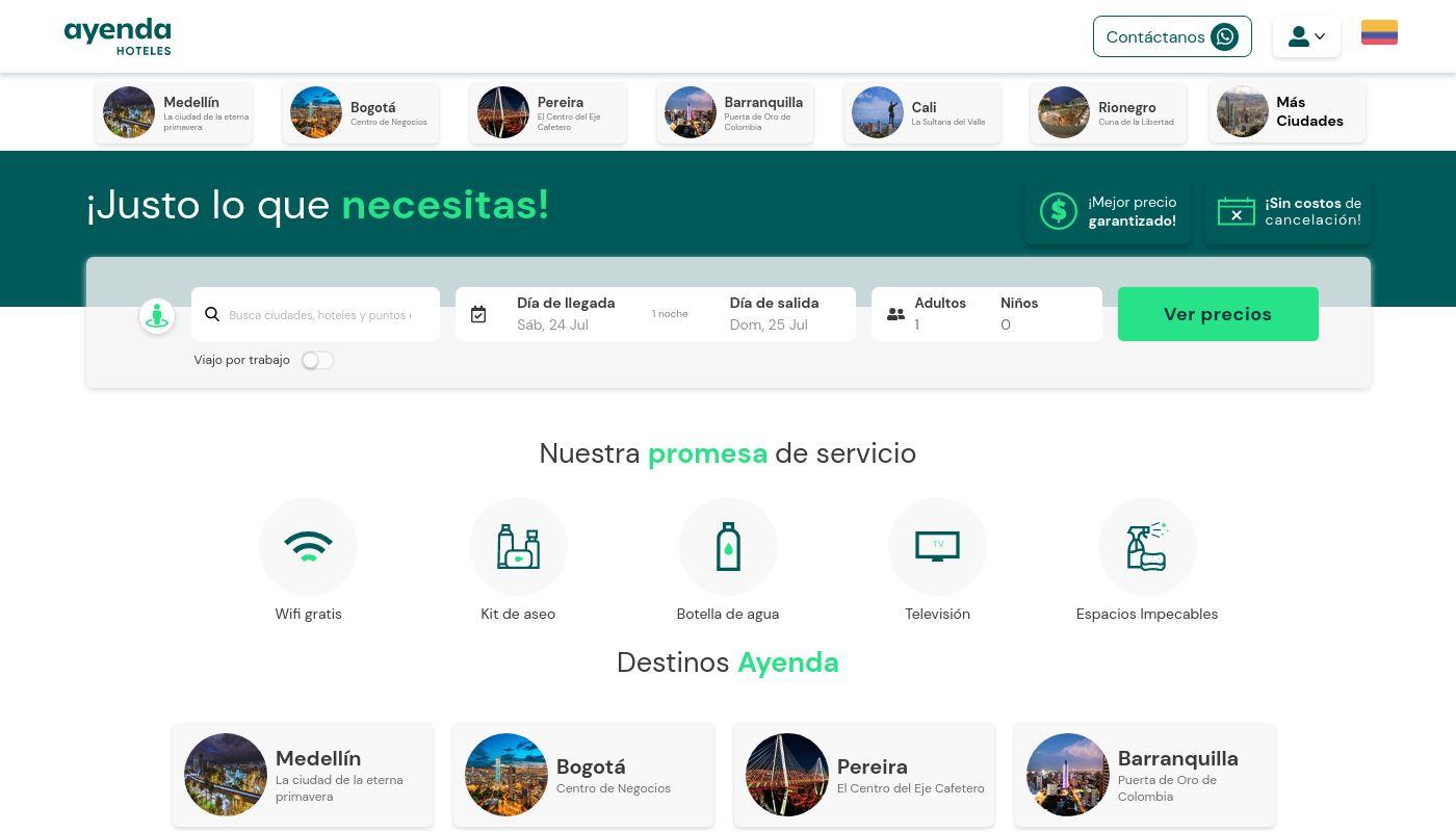45) Ayenda Hotels