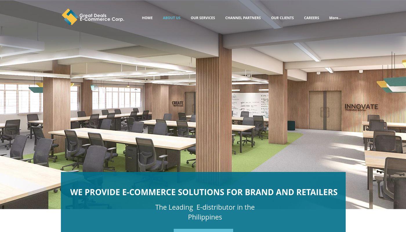 1) Great Deals E-Commerce