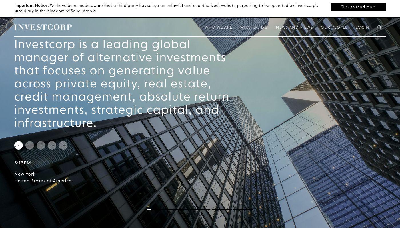 151) Investcorp