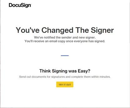 You've change the signer confirmation pop-up image