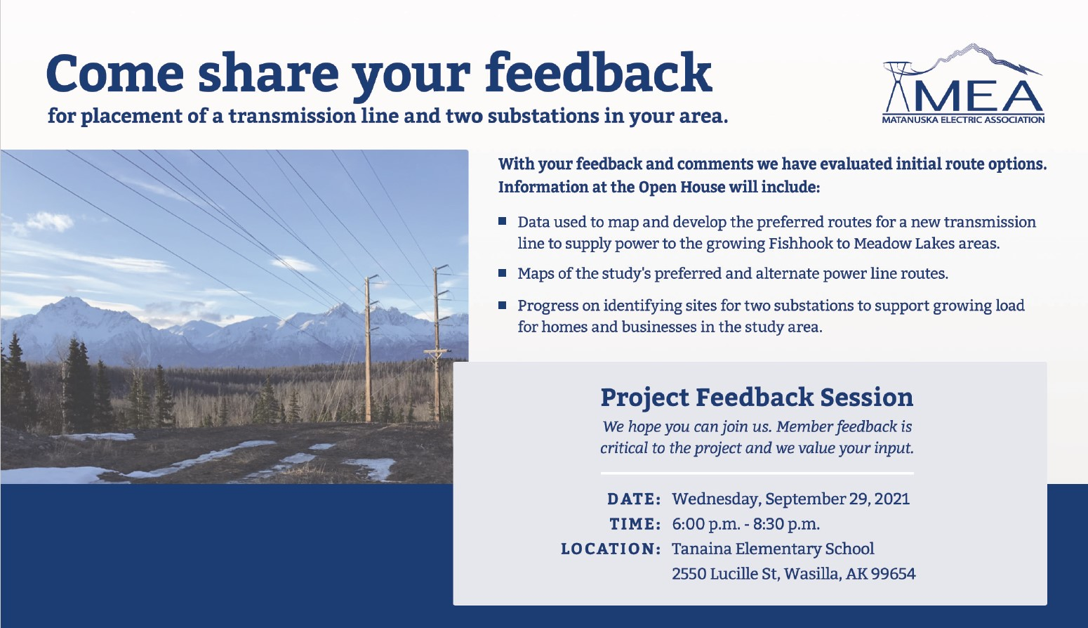 Fishhook to Pittman Transmission Line and Substation Siting Study