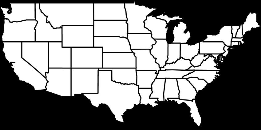 Full Map of USA
