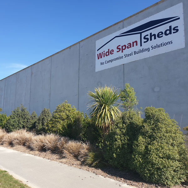 WideSpan Sheds have been supplying and constructing premium steel buildings throughout New Zealand.