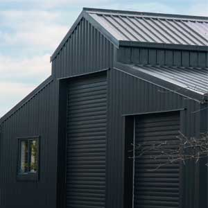 Cohesive homes shed homes