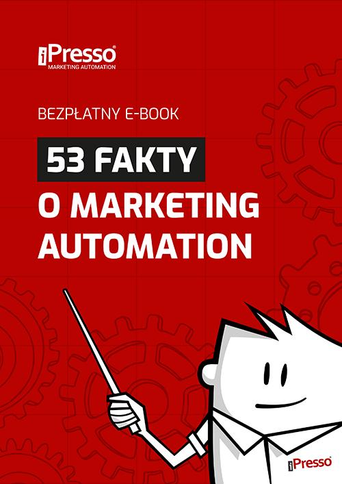 Bezpłatny e-book - 53 fakty o marketing automation
