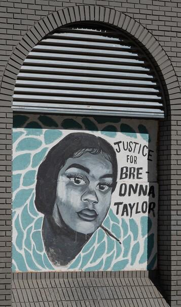 Breaonna Taylor mural