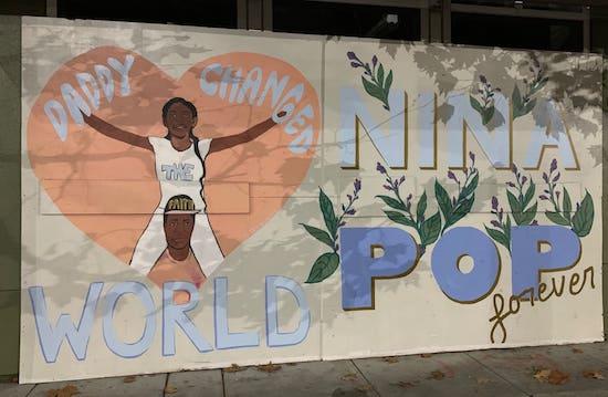George Floyd street art