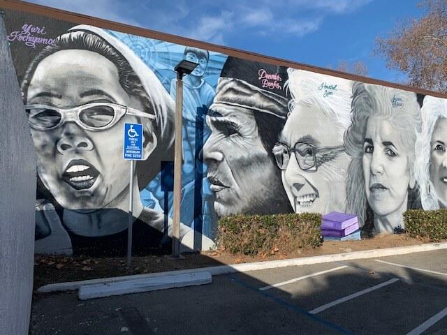 Racial justice mural