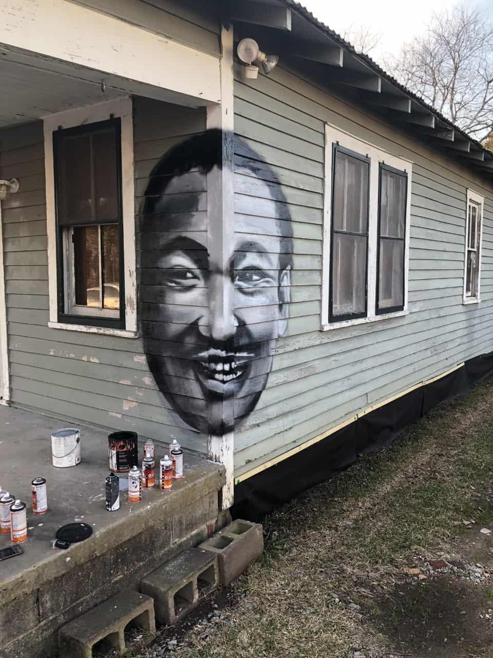 Martin Luther King Jr. street art