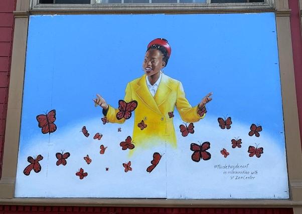 Amanda Gorman Hayes mural