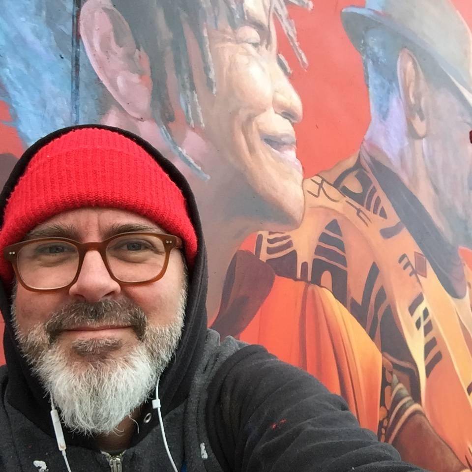 David Burke, social justice street artist