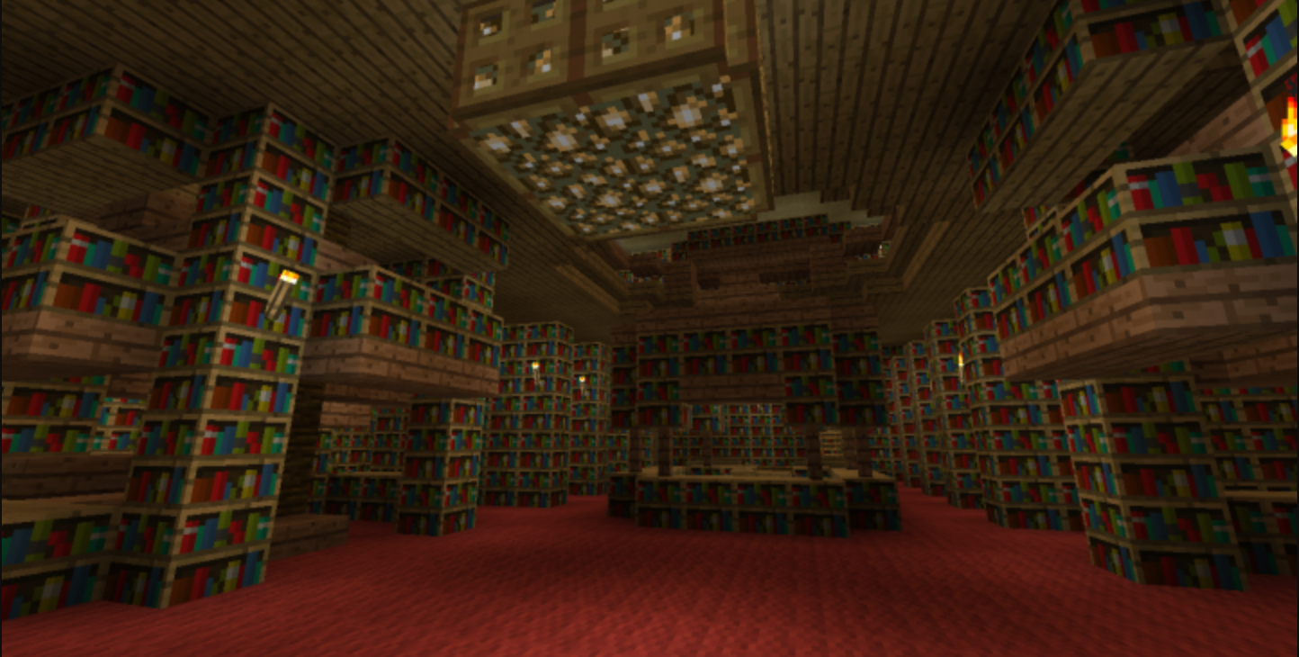 Join fellow Minecraft builders to recreate the set of your favorite storybook!