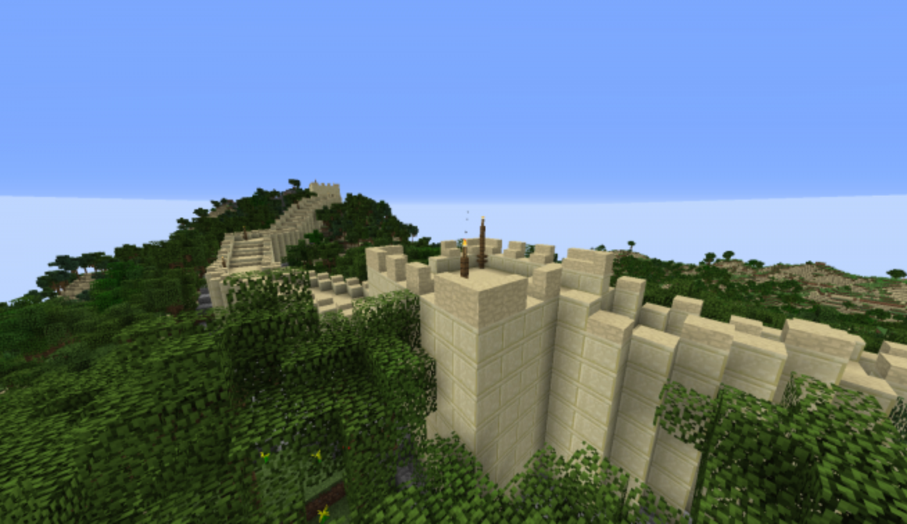 Join fellow Minecraft enthusiasts to re-build the Colosseum, the Taj Mahal, and other spectacular monuments.