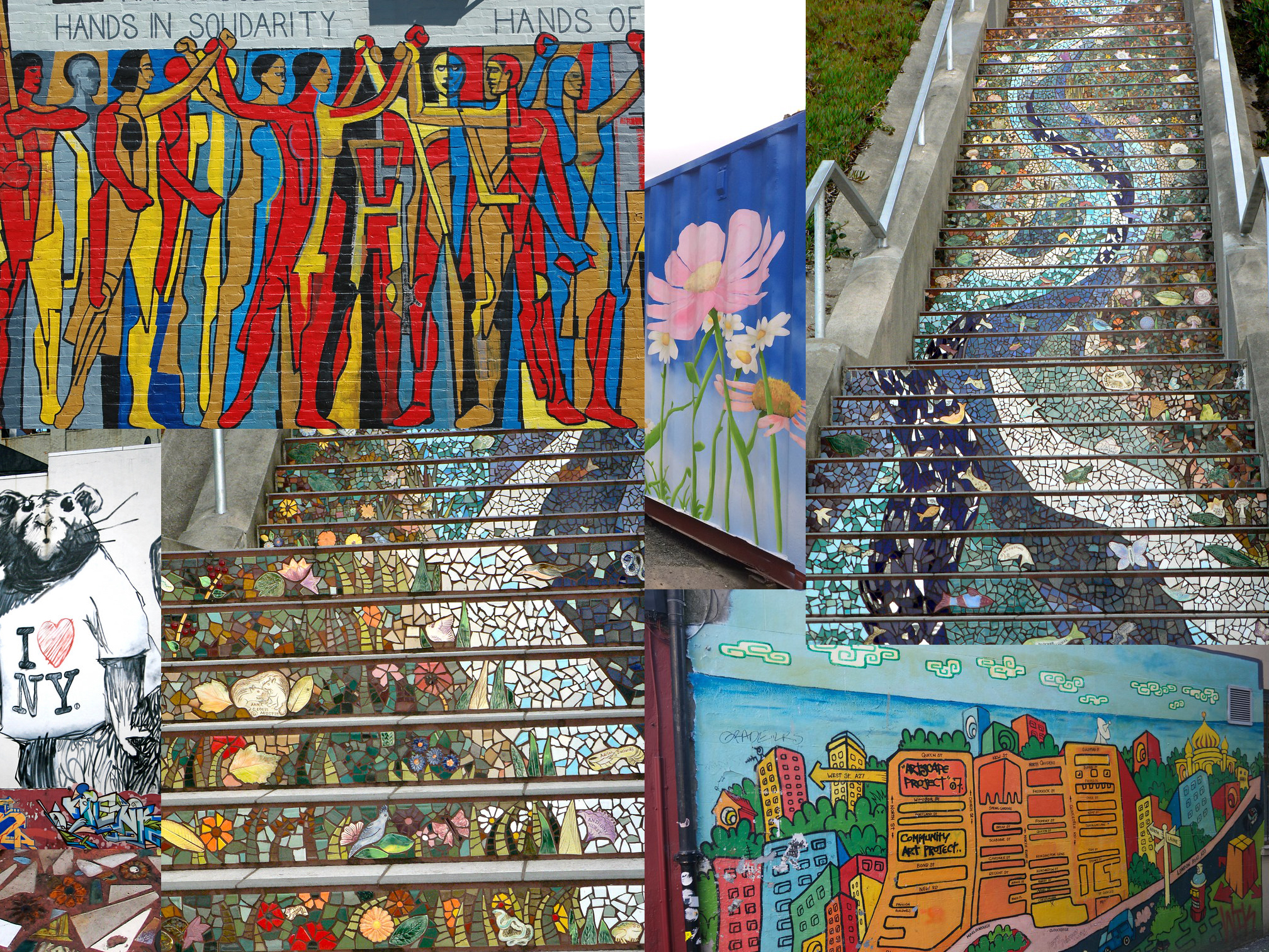 Explore environmentally friendly ways to beautify your community through art!