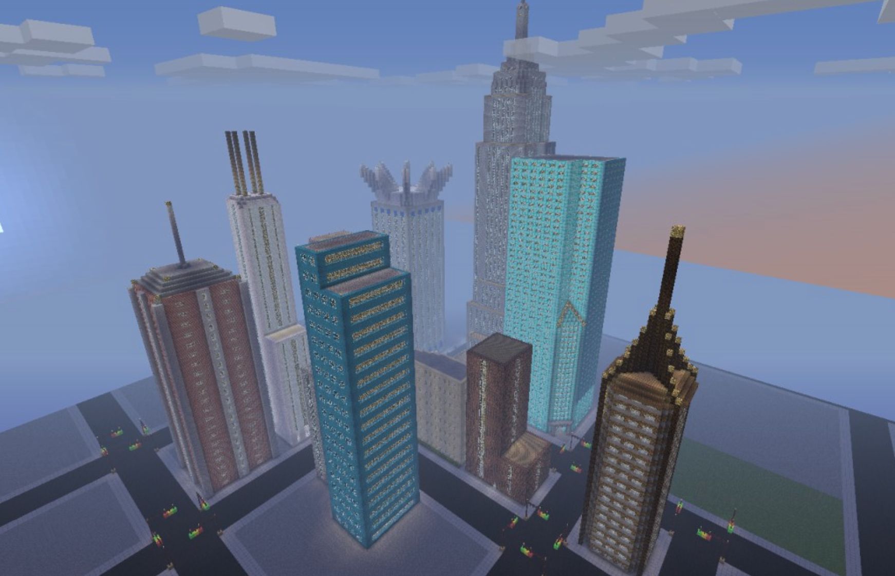 What would New York City look like if you rebuilt its parks and skyscrapers in Minecraft? Come find out!