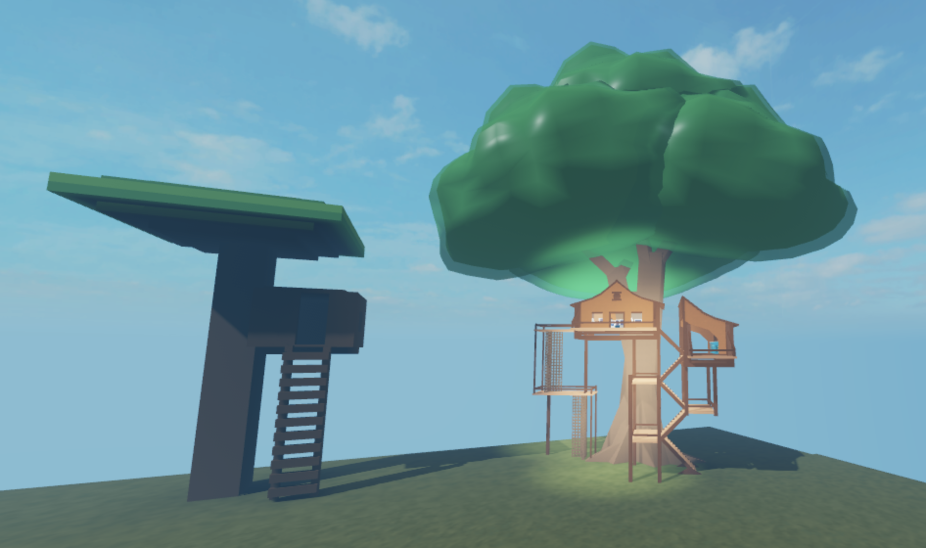 Come together with other Roblox World builders to create a hidden city in the treetops!