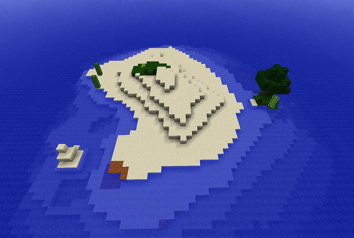 Team up to design your own island world — in Minecraft!